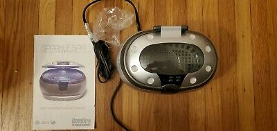 GemOro SparkleSpa Jewelry Cleaner Silver looks New with Instructions. Ultrasonic