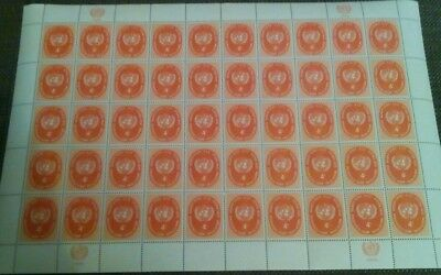 The United Nation Mnh  Sheet Stamps 1958 .# 9