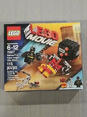 THE LEGO Movie 70817:Batman and Super Angry Kitty Attack Set New In Box Sealed