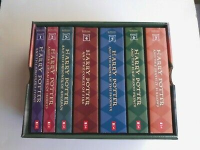 Harry Potter The Complete Series Box Set Books 1-7 Excellent Clean Condition