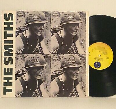 THE SMITHS Meat Is Murder 1985 SIRE/ROUGH TRADE Orig. U.S Press ERROR ON COVER