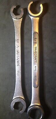 "TrueCraft Palmera Vintage Mechanics 5//8/"" X 3//4/"" Open End Wrench"