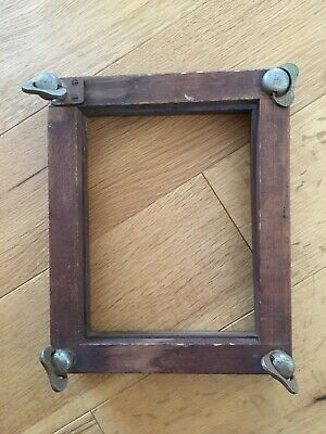Vintage Wooden Flower Press Frame Upcycle Project