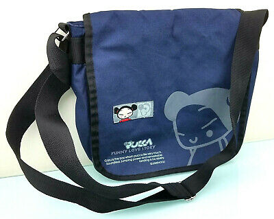 Pucca Shoulder Bag Japanese Anime Rare Funny Love Story Collectible School Bag