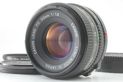 【 Near Mint 】Canon NEW FD 50mm F1.8 Standard MF NFD Lens from Japan