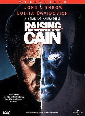 Raising Cain (DVD, Region 1) Very Good condition from personal collection!