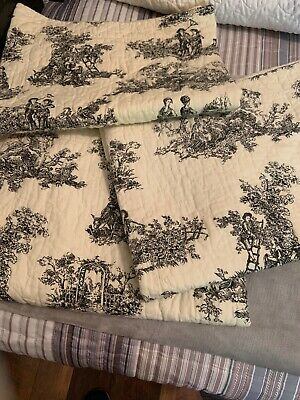 CRACKER BARREL COUNTRY QUILT STANDARD BED SHAM IN PAM NEW WHITE, GREEN