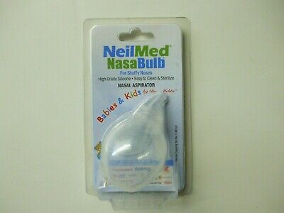 NeilMed Nasabulb Nasal Aspirator NEW Sealed