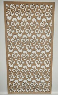 Radiator Cabinet Decorative Screening Perforated 3mm&6mm thick MDF laser cut PP3
