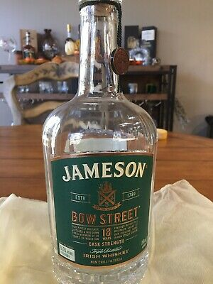 Jameson Irish Whiskey Bow Street 18 Year Limited Collectors Edition