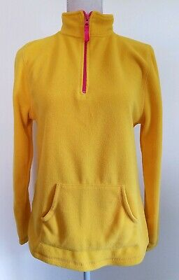 Arizona Jeans Company Pullover Youth/Girls size XL 18 Yellow Fleece pink Soft