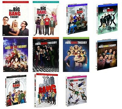 THE BIG BANG THEORY stagioni 1-11 (34 DVD) cofanetti singoli, italiani