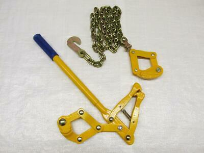 Chain Strainer - Wire Fence Stretcher Tensioner Repair Pull Monkey Cattle