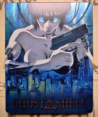 Rare Blu-ray Steelbook Ghost in the Shell Edition Française Limitée / Etat neuf