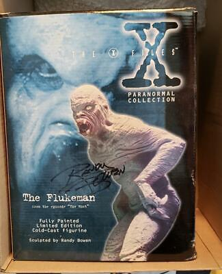 X-files The Flukeman Autographed  by Randy Bowen