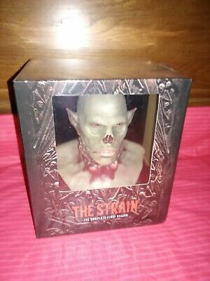 The Strain Season 1 Limited Collector's Edition Bluray W/ Master's Bust Sealed