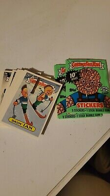 1987 Garbage Pail Kids 10th Series- 2 Different Unopened Packs-Variation Lot TWT