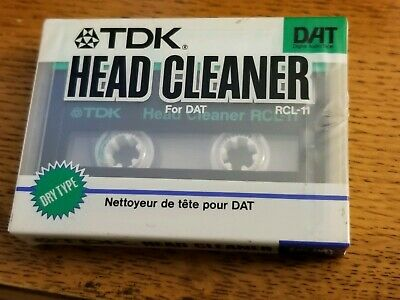 Top Quality Tdk Rcl-11 Dat / Digital Audio Tape Head Cleaner / Cleaning Cassette