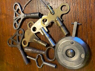Garrard Clock Pendulum And Quantity Of Clock Keys