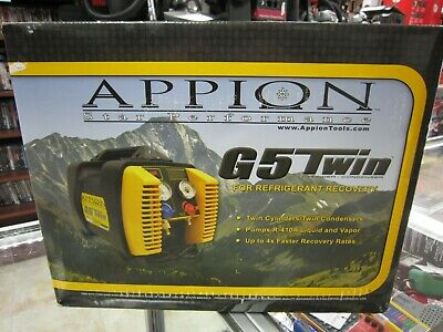 BRAND NEW!! Appion G5TWIN G5 TWIN Refrigerant Recovery Machine FREE SHIPPING!!