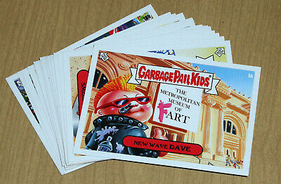 2019 Topps Garbage Pail Kids GPK X NYC Takeover 20-card complete set 1a-10b