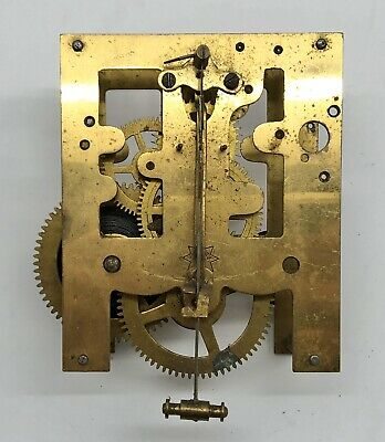 Antique JUNGHANS Mantle or Wall Clock Movement Reclaimed Parts Repair (RF1035)