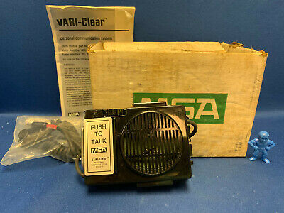 MSA 496825 Vari-Clear Personal Communication System - Voice Amplifier