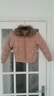 Girls winter coat jacket age 7-8 years from Primark