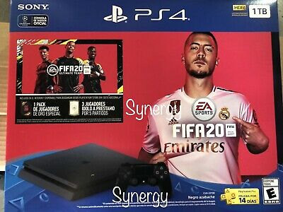 FIFA 20 GAME PLAYSTATION 4 CONSOLE PS4 slim 1tb WITH FiFA 20 GAME NEW!!
