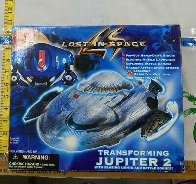 NEW From 1997 - LOST IN SPACE THE MOVIE TRANSFORMING JUPITER 2