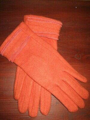 QUALITY Ladies GLOVES  Part Cashmere Wool Felted HIGH QUALITY Small Or Medium