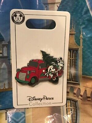 Disney Christmas 2019 Holiday Mickey And Minnie With Car And Tree Pin New OE Pin
