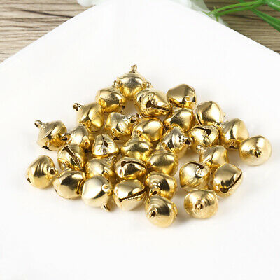 WINOMO 100PCS Jingle Bells Small Decorative Toys Decoration Supply for Christmas