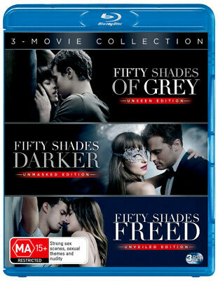 Fifty Shades Of Grey (Unseen Edition) / Fifty Shades Darker [New Bluray]
