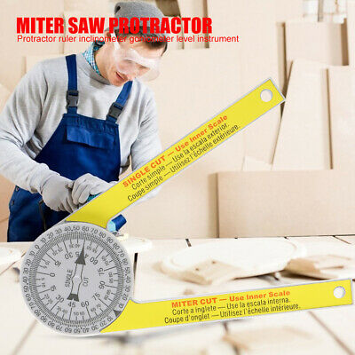 Replace Miter Saw Protractor 505P-7 Laser Engraved Dial Scale Angle