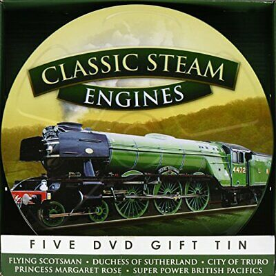 Classic Steam Engines [5 DVD GIFT TIN] - DVD  SQVG The Cheap Fast Free Post