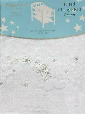 Bubba Blue Cotton Wish Upon a Star Change Pad Cover Free Shipping!