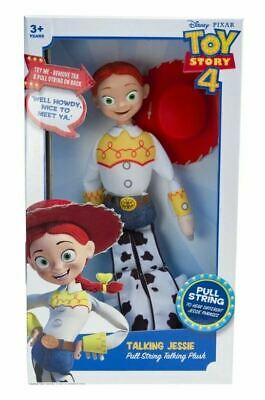Toy Story 4 TALKING JESSIE Pull String Talking Plush 40cm with over 12 PHRASES
