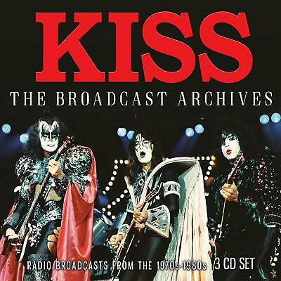 KISS 'THE BROADCAST ARCHIVES' (1970s-1980s) 3 CD Set (6th Dec. '19)