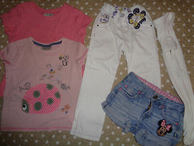 Next h&m M&S Minnie Mouse girls bundle 2-3 yrs shorts tops trousers ladybird 2-3