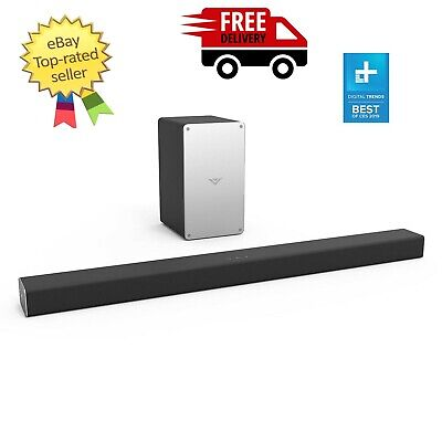 """VIZIO 36"""" 2.1 Channel Sound Bar with Wireless Subwoofer, Bluetooth FREE SHIPPING"""