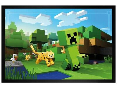 Minecraft Overworld Biome Maxi Poster Print 61x91.5cm24x36 inches