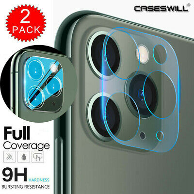 Couverture complète Tempered Glass Camera Lens Protection pour iPhone 11 Pro Max