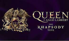 Queen And Adam Lambert - Rhapsody Tour Tickets