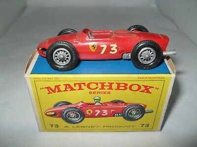 Repro Box Matchbox 1:75 Nr.73 Ferrari Racing Car