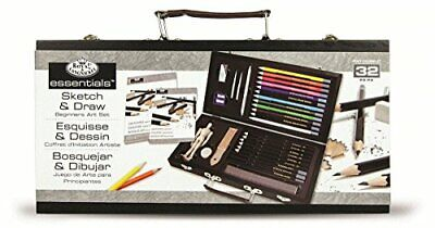 ROYAL BRUSH Essentials Art Sketching and Drawing Artist Set for Beginners, Multi