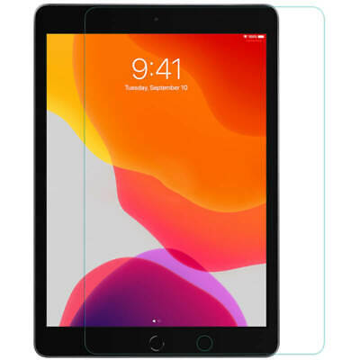 """iPad Screen Protector Tempered Glass for Apple iPad 10.2"""" (2019) 7th Generation"""