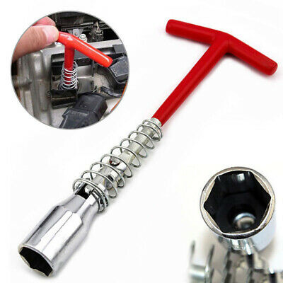 4PC 21MM 16MM 18MM T HANDLE SPARK PLUG SPANNER WRENCH REMOVER SOCKET REMOVAL