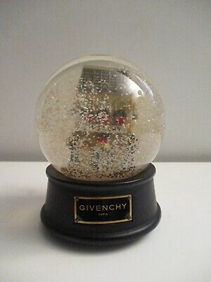 Givenchy Limited Edition Winter In Paris Collectible Musical Snow Globe Snowdome
