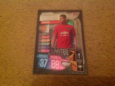 Match Attax 2019/2020 Marcus Rashford Silver Ltd Ed LE Card Mint & Rare Man Utd